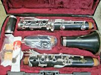 Buffet E12 Bb Clarinet Outfit, Made in Germany, Grenadilla Wood, Ready-To-Play!