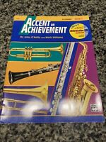Accent On Achievement Bb Clarinet Book1 Alfred No Cd