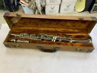 1920's Metal Noblet France Clarinet Serial #4446 Great Condition / with case