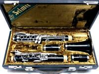 Henri SELMER Paris 10S Clarinet with Hard Case Shipped from Japan