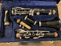 Buffet Crampon B12 Clarinet Woodwind Instrument Made In Germany Complete Desc*