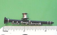 CLARINET miniature - hat pin , tie tac , lapel pin , hatpin (PBCL) GIFT BOXED