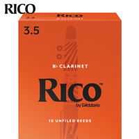 Rico by D'Addario RCA1035 Bb Clarinet Reeds, Strength 3.5, 10-pack