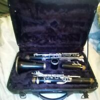Ycl-23n Yamaha Clarinet&4C Mouthpiece,Grandcase...JapanMade.Looks OK.Sell A s-Is