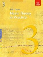 Music Theory In Practice - Grade 3 (Revised 2008 Edition) Book Theory