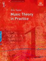 Music Theory in Practice, Grade 1   Eric Taylor Book Only 9781860969423