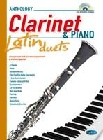 Anthology Latin Duets (Clarinet & Piano)  Clarinet and Piano  Book with CD CARML