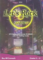 Let's Rock for Clarinet with CD Roy McCormack Clarinet Solo