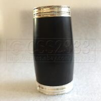New Ebony Bb clarinet barrel wood Silver Plated  great material 65mm