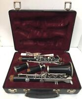 VINTAGE SELMER MODEL CL300 CLARINET WITH HARD CASE MADE IN USA SERIAL NO. 17632