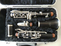 Vintage LaMer Wood Clarinet Ser. *1 24399 Made in France X5 MP Nice Condition