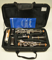 NEW LEBLANC CL502 STUDENT Bb WOOD CLARINET WITH CASE AND DEBUT MOUTHPIECE