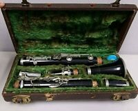 Prof. ROMEO ORSI - MILANO, Italy Clarinet with Mouthpiece, Cover & Original Case