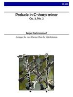 Prelude In C-Sharp Minor, Op.3, No.2 Clarinet Ensemble Learn to Play MUSIC BOOK