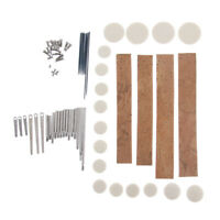 Clarinet Repair Tools Kit Set Pads Woodwind Clarinet Replacement Parts