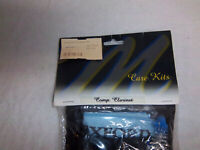 Master Series Clarinet Care Kit Grease Oils Swabs Brushes Cloth Pouch