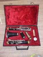 Evette Buffet Crampon Clarinet With Hard Case Made in Germany Plastic