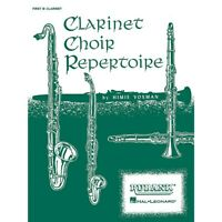 Clarinet Choir Repertoire (Bass Clarinet Part) Ensemble Collection by Various