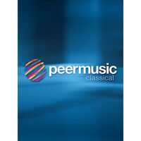 Peer Music Concerto for Bass Clarinet (Solo Part) Peermusic Classical Series