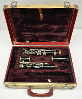 USED CONN USA PLASTIC Bb CLARINET - BROKEN -- BEST FOR PARTS
