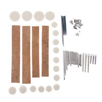 Clarinet Repair Tools Kit Pads Screws Woodwind Clarinet Replacement Parts