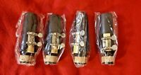 Student B Flat Clarinet Mouthpiece Kit w/ Ligature, Reed and Cap **LOT OF 4**
