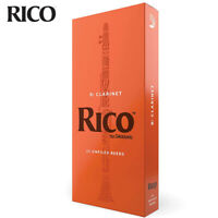Rico by D'Addario RCA2540 Bb Clarinet Reeds, Strength 4, 25-PACK
