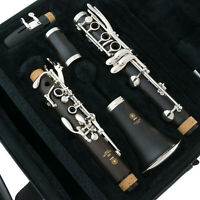Brand New YAMAHA Clarinet - YCL 450M Duet+ - SILVER PLATE - SHIPS FREE WORLDWDE