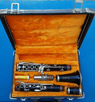 Selmer Clarinet K Series Bb with Leblanc Glass Mouth Piece Signed Pete Fountain