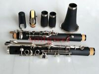 Excellent  G key clarinet Ebonite Good material and sound