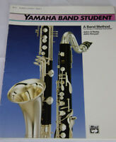 YAMAHA BAND STUDENT MUSIC SONGBOOK FOR BASS CLARINET