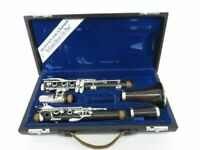 AS IS 1980's Buffet Crampon RC B flat Vintage Clarinets Used W/Case FreeShipping