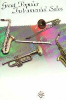 GREAT POPULAR INSTRUMENTAL SOLOS MUSIC BOOK FOR CLARINET RARE BRAND NEW ON SALE