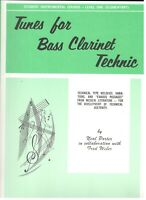 STUDENT INSTRUMENTAL COURSE LEVEL 1 TUNES FOR BASS CLARINET TECHNIC MUSIC BOOK