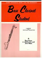 STUDENT INSTRUMENTAL COURSE LEVEL 2 BASS CLARINET STUDENT MUSIC BOOK NEW ON SALE