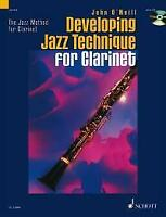 Developing Jazz Technique for Clarinet Vol. 2 Clarinet MUSIC BOOK & CD