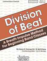 Division of Beat (D.O.B.), Book 1A - Clarinet/Bass Clarinet