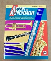 ACCENT ON ACHIEVEMENT FOR B CLARINET BOOK 3 **BRAND NEW**