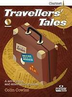 Travellers' Tales English-German-French-Dutch Clarinet and Piano MUSIC BOOK & CD