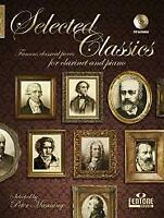 Selected Classics Classical English-German-French-Dutch Clarinet MUSIC BOOK & CD