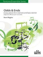 Odds & Ends English-German-French-Dutch 2 Clarinets Bass Clarinet MUSIC BOOK
