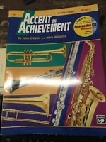 Accent on Achievement Book 1 for Bass Clarinet