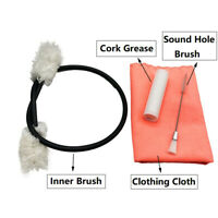 4pcs/set Clarinet Flute Cleaning Tool Clean Cloth Cork Grease Sound Hole Brush