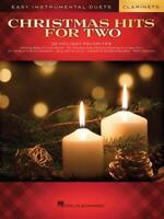 EASY INSTRUMENTAL DUETS CHRISTMAS HITS FOR TWO MUSIC BOOK CLARINETS NEW ON SALE