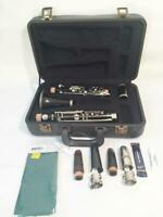 Pourcelle Bb Albert Clarinet High Pitch A454 Restored with Case-Wood Mouthpiece