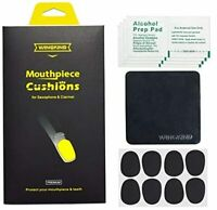 WINGKIND Mouthpiece Patch Mouthpiece Cushion for Clarinet / Saxophone 8 pieces