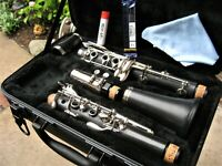Clean/Fully Adjusted Buffet B12 Clarinet w/New Accessories Made in Germany