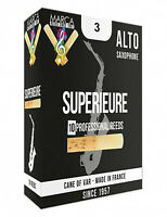 2 boxes of Alto saxophone Marca Superior reeds 3 + humor drawing print