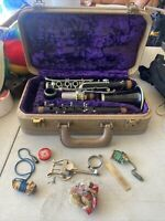 Vintage Noblet Clarinet-Model 1490C Made in France-Wood Clarinet Used