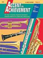 Alfred Publishing Co. 0018058 Accent on Achievement, Book 3, B Flat Bass Clarine